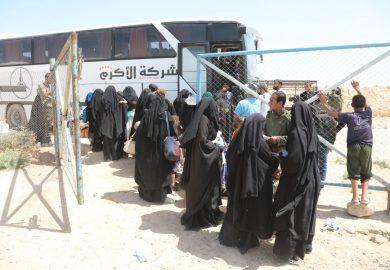 57 – مبادرة إخراج عوائل داعش