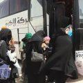 خروج عوائل داعش من مخيم الهول