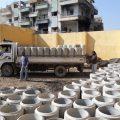 آخر أعمال الصرف الصحي في الرقة مع مراسلنا عبد الرزاق