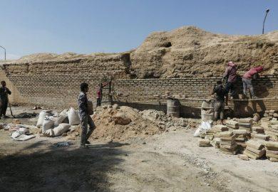 تاريخ السور الأثري بالرقة وعملية ترميمه