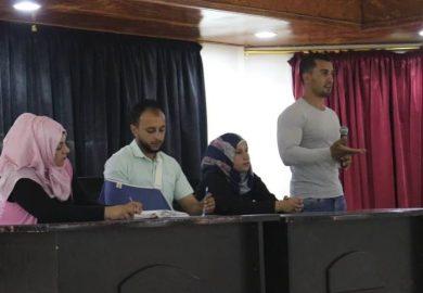 آخر فعاليات لجنة الشباب والرياضة في دير الزور مع مراسلنا باسم عزيز