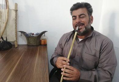 لقاء مع حمد الشبلاوي عازف زمارة من المركز الثقافي في الرقة