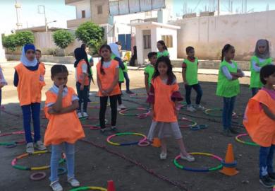تجربة مدارس المتفوقين مع الموجهة التربوية إلهام حبش