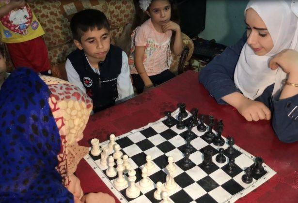 عائلة الشطرنج في الطبقة