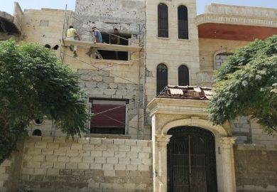 لقاء مع أبو أيمن – صاحب مكتب عقاري في الرقة