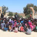 تعامل المعلم مع تجمعات التلاميذ العشائرية مع الموجهة التربوية إلهام حبش