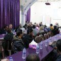 جلسة العنف ضد المرأة في منظمة بيت المواطنة بالرقة مع حلا العلي