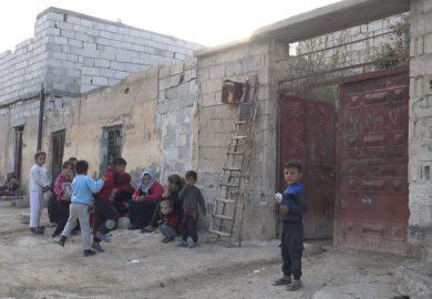 مشاكل شارع ابو الهيس في الرقة مع مراسلتنا جوري مطر
