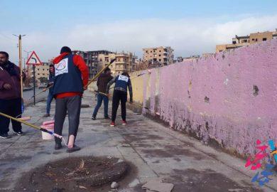 مشاريع جمعية خطوة مع مراسلنا عبد الرزاق عبد الرزاق