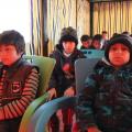 التعليم بالمخيمات العشوائية بريف الرقة