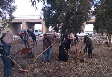 فتح باب تسجيل للشباب على مشروع التدريب المهني من منظمة آفاق مع ابراهيم العبد الله