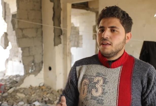 قصة محمد مقشر من إدلب ونزوحه الى الرقة