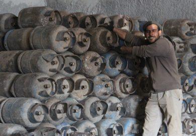 وضع الغاز في مدينة الرقة