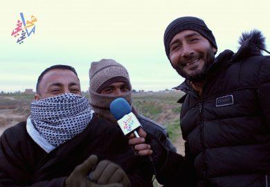 اخر مشاريع ايصال مياه الشرب للريف الشرقي في دير الزور مع مراسلنا باسم عزيز