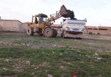 اعمال بلدية تشرين مع حسين عرودة