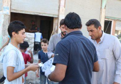 أبو محمد، أحد سكان الرقة وشعوره بخصوص جائحة كورونا واحتياطاته الشخصية