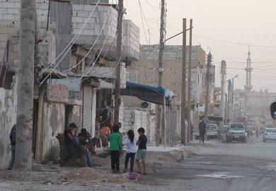 المواطن خالد عبد الحميد، وضع الخدمات في حي المنصور