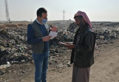 حملات منظمة قدر في دير الزور ودعمها للأهالي مع حسن الأحمد