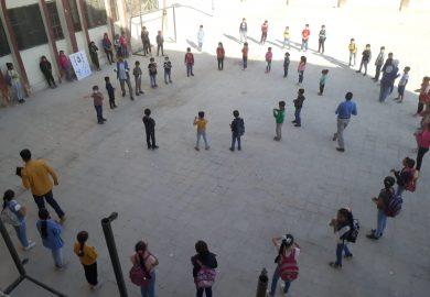 وضع التعليم والطلاب في مدرسة عمر علوش كمثال عن مدارس الرقة