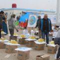 مكتب الإغاثة في الرقة يضاعف جهوده لتغطية احتياجات الناس والحالات الإنسانية في الرقة خلال رمضان